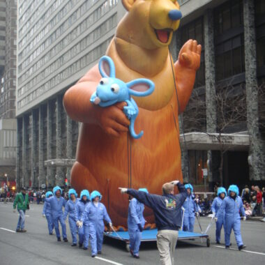 Bear in the Big Blue House Parade Balloon, 30'