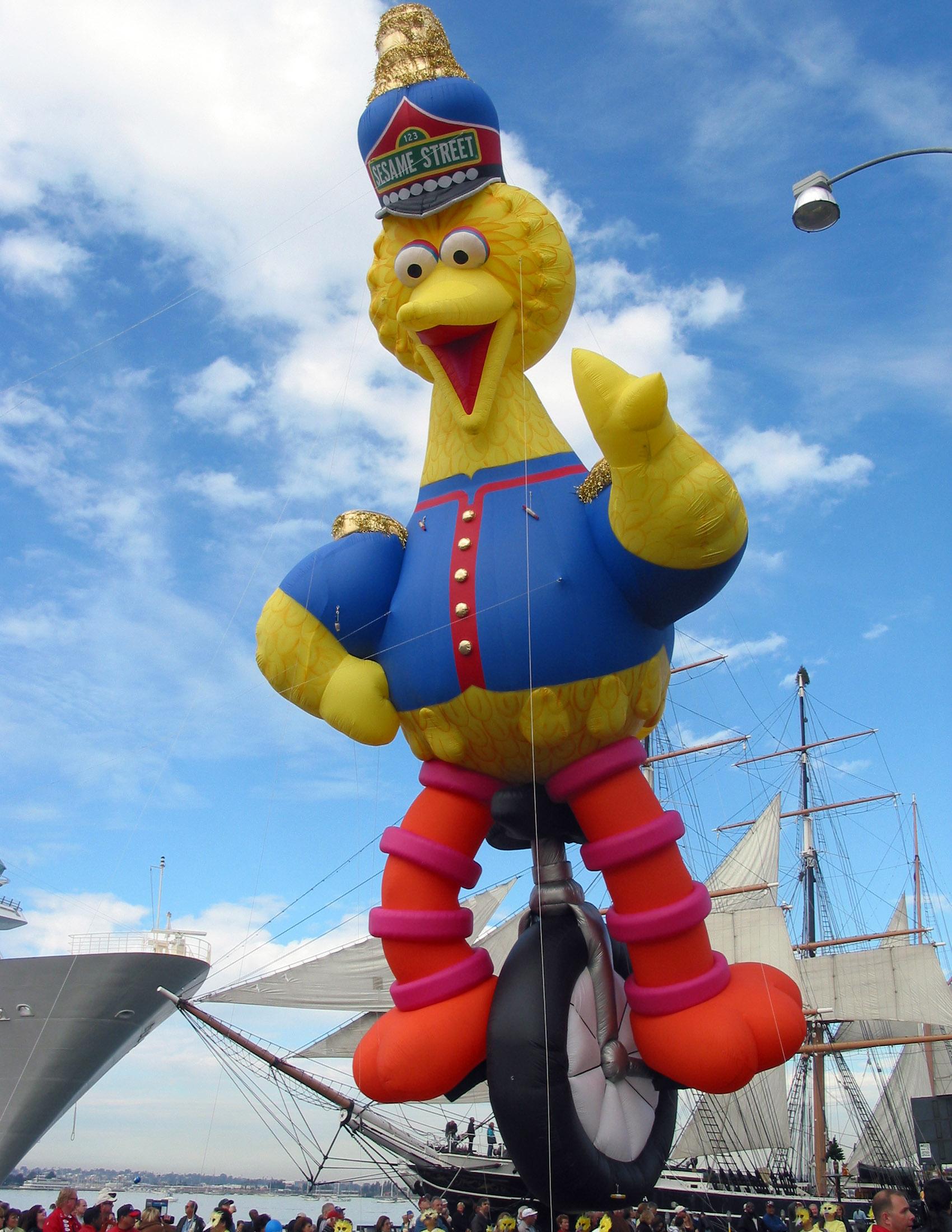 Big Bird Sesame Parade Balloon