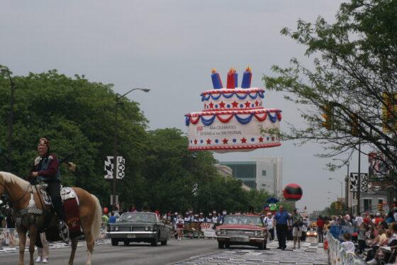 Birthday Cake 25' Parade Balloon