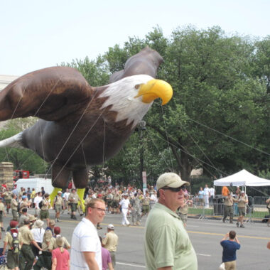 Regal Eagle Parade Balloon