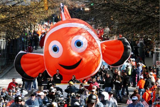 Clown Fish Parade Balloon