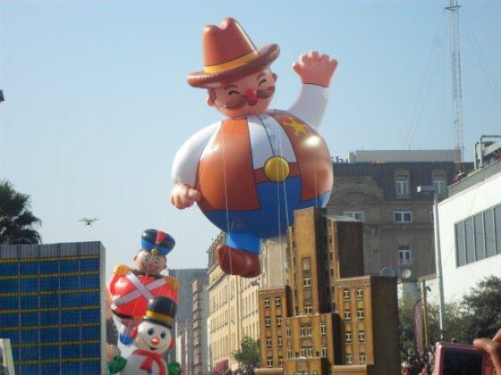 Cowboy Rounder Parade Balloon