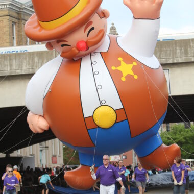 Cowboy Parade Balloon