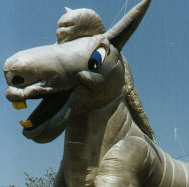 Dancing Donkey Parade Balloon, 45'