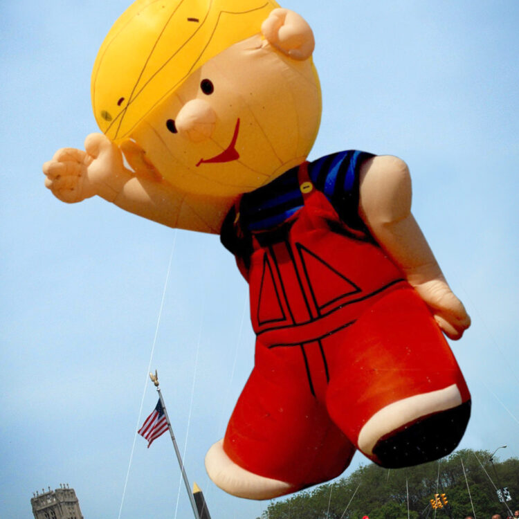 Dennis the Menace, Cartoon Parade Balloon