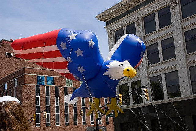 American Eagle Parade Balloon