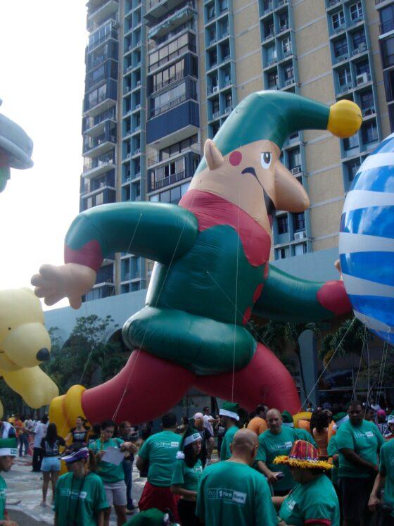 Santa's Elf Parade Balloon