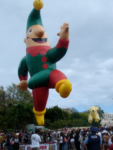 Santa's Elf Parade Balloon