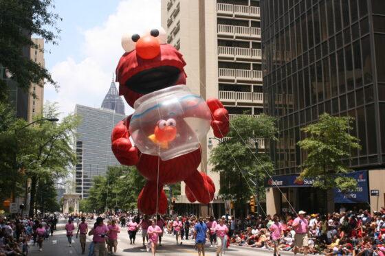 Elmo Parade Balloon