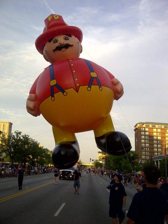 Fireman Parade Balloon