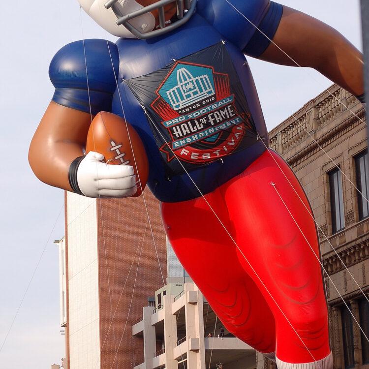 Football Player Parade Balloon Large