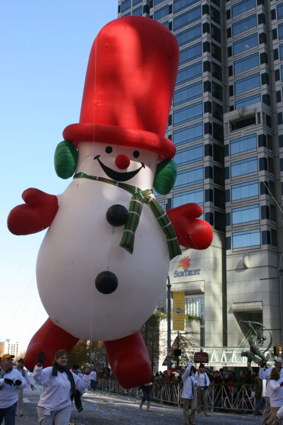 Frosty Snowman Parade Balloon