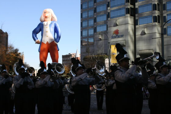 George Washington Parade Balloon