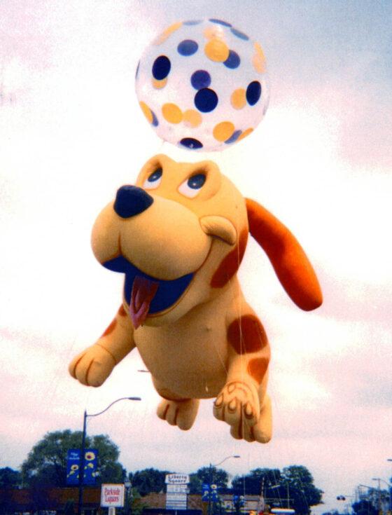 Happy Puppy Parade Balloon