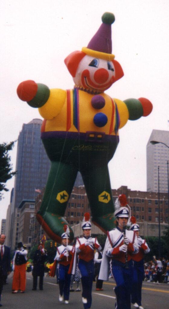 Happy the Clown Parade Balloon, 65'