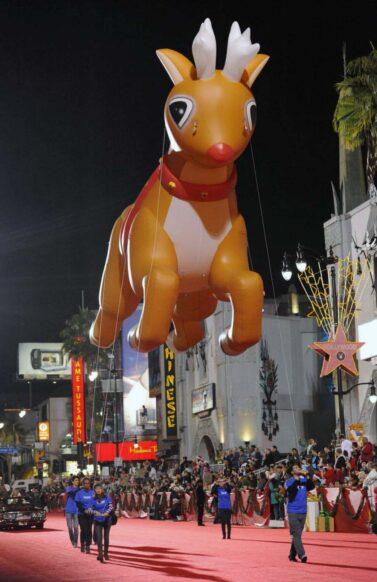 Rudolph, Santa's Reindeer Parade Balloon