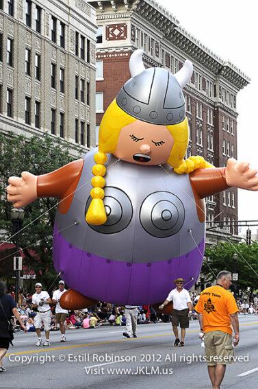 Viking Parade Balloon, Opera Singer