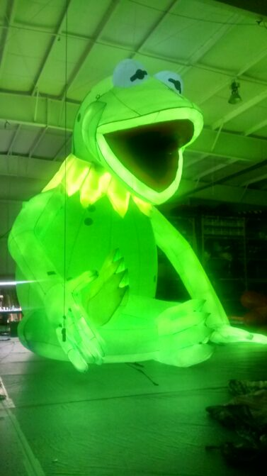 Kermit cold air internal lights