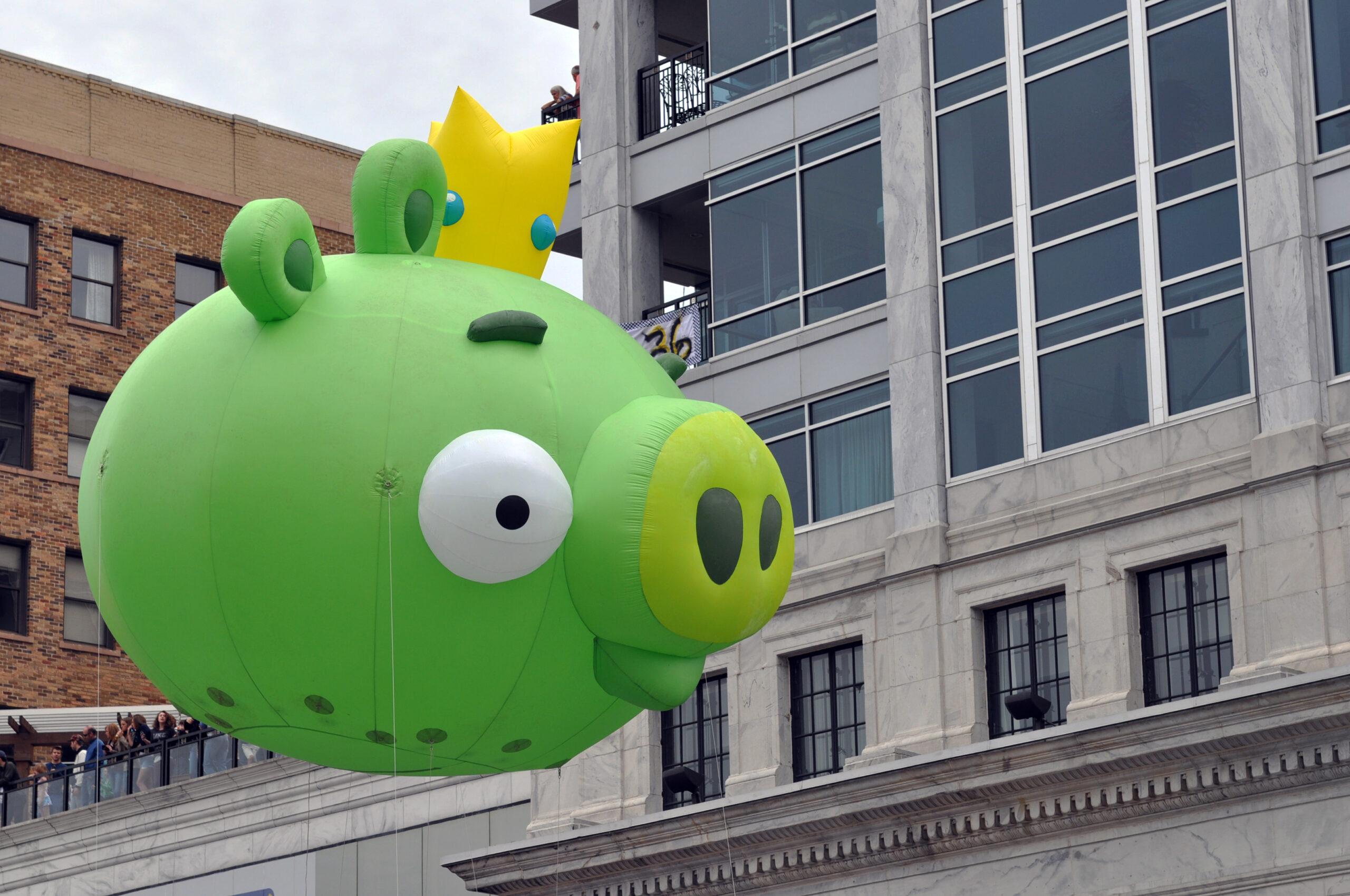 Angry Birds Parade Balloons, Bad Piggy