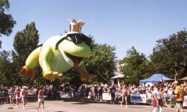 Frog Prince Parade Balloon