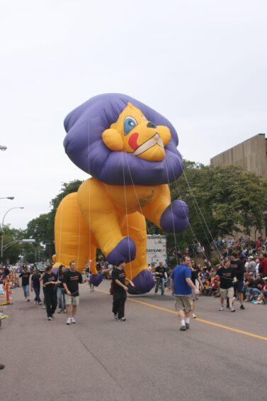Leo Lion Parade Balloon, 35'