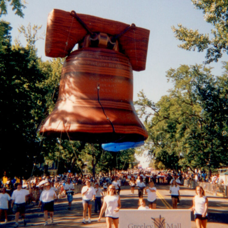 Liberty Bell Parade Balloon