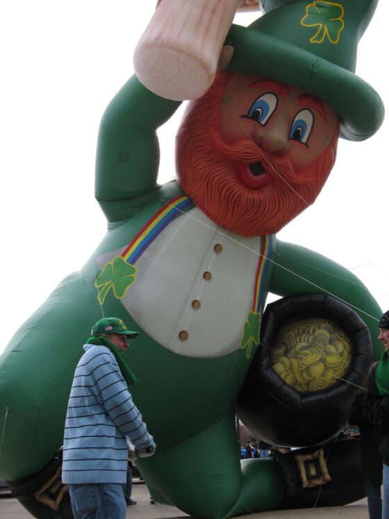 Lucky the Leprechaun Parade Balloon