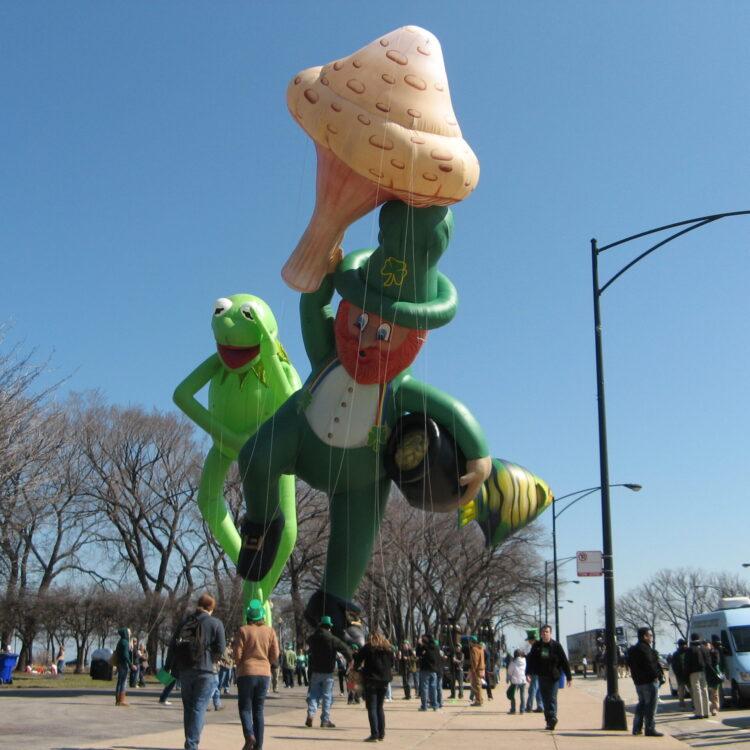 Lucky the Leprechaun Parade Balloon