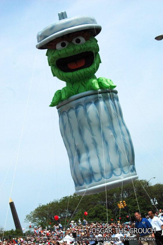 Oscar the Grouch Parade Balloon