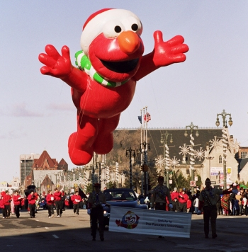 Santa Elmo Parade Balloon