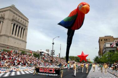 Parrot Parade Balloon