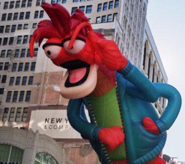 Pepe Prawn Muppets Parade Balloon