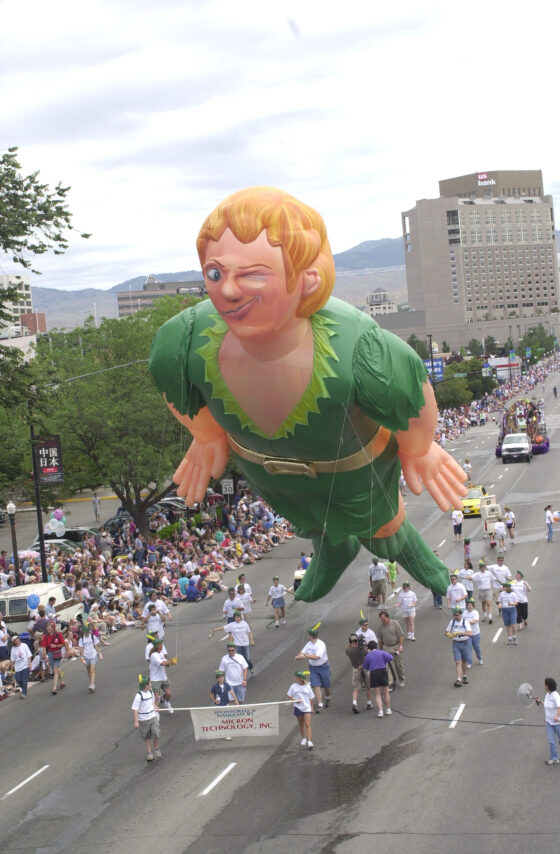 Peter Pan Parade Balloon