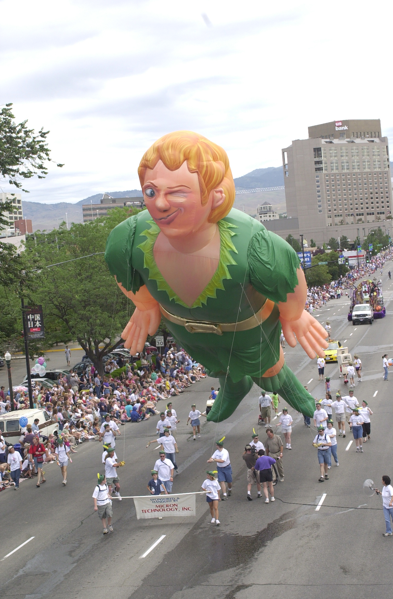 Peter Pan Parade Balloon