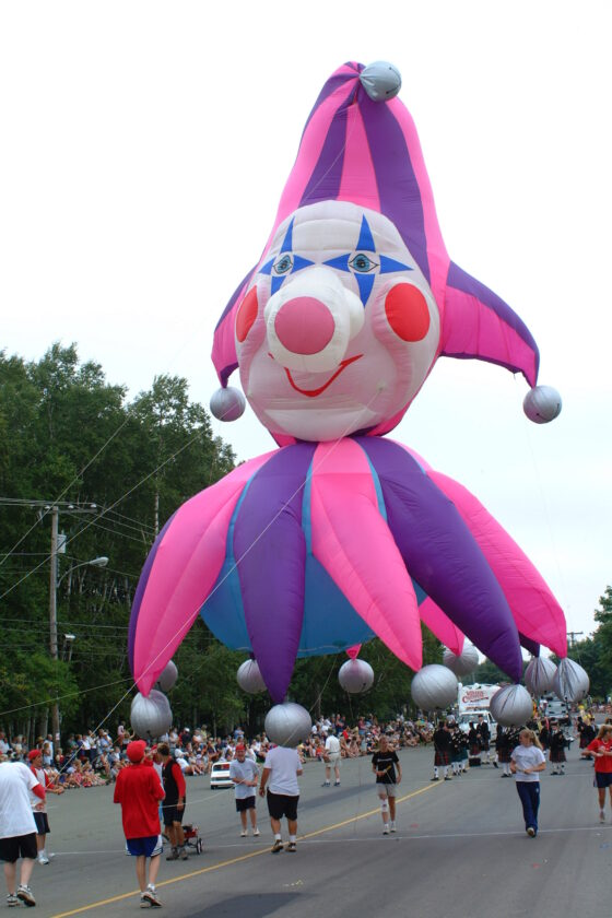 Punch the Jester Parade Balloon