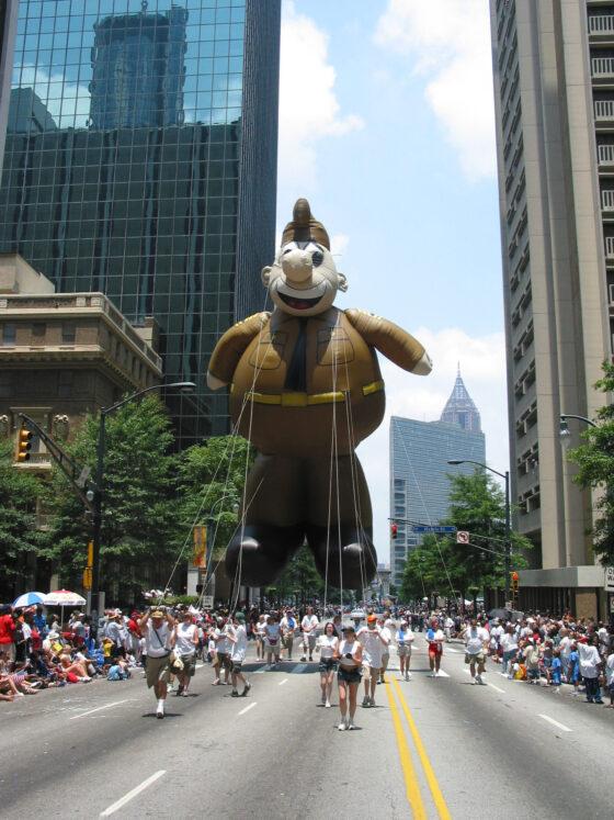 Sergeant Freedom, Army Parade Balloon