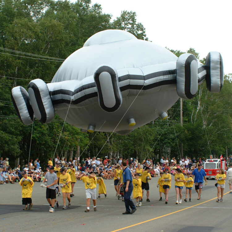 Flying Saucer UFO Parade Balloon