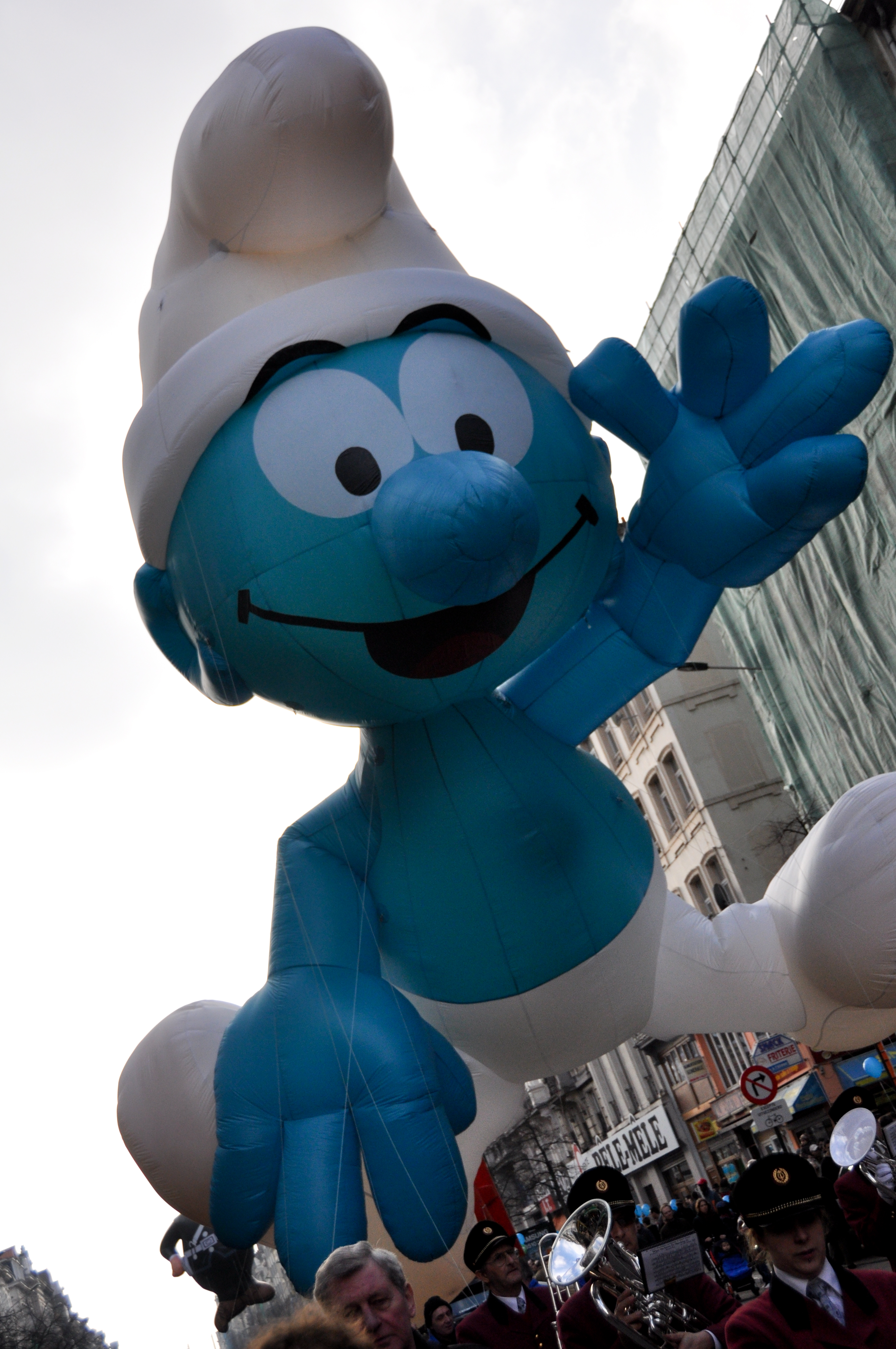 Smurf Parade Balloon