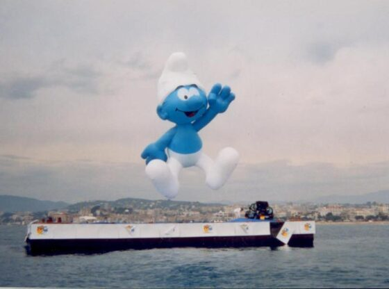 Smurf Parade Balloon