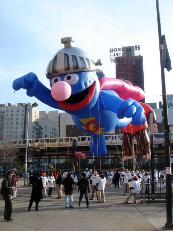 Super Grover Parade Balloon