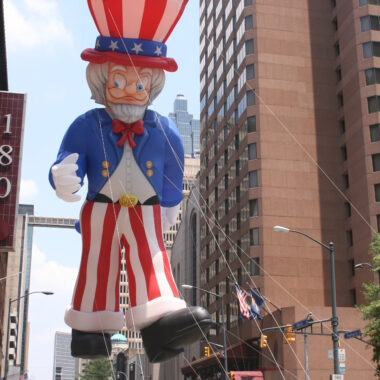 Uncle Sam Parade Balloon