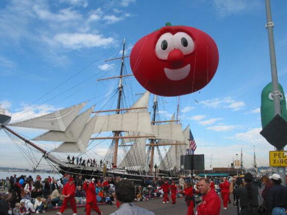 Veggie Tales Parade Balloons