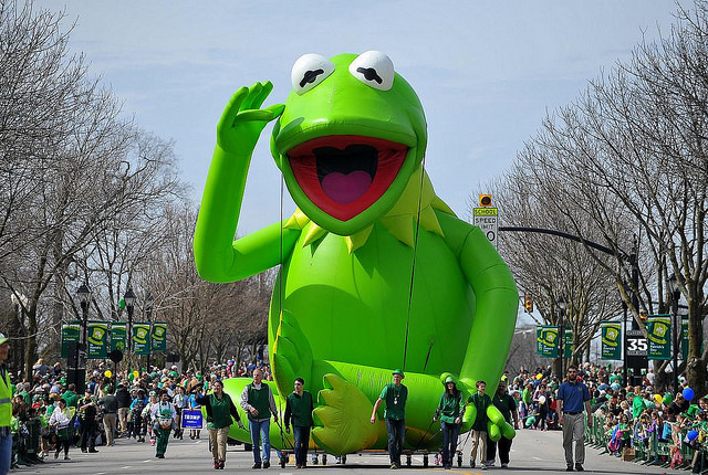 Kermit Parade Balloon