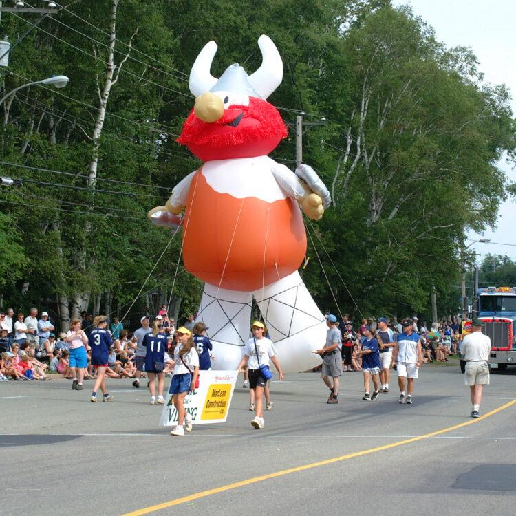 Viking Erik the Red Parade Balloon, 25'