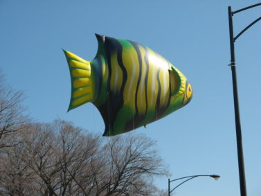 Angel Fish Helium Balloon