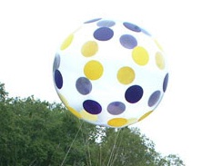 Beach Ball Parade Balloon, 10'