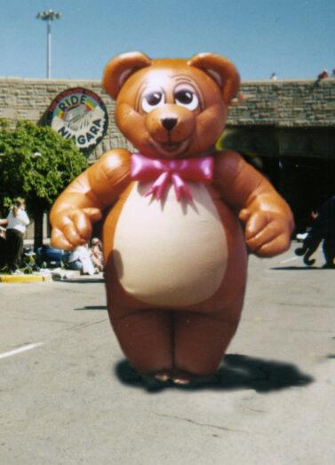 Teddy Bear Inflatable Costume