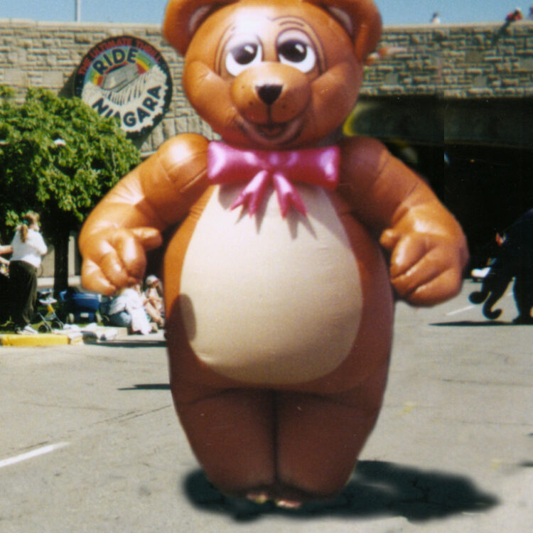 Teddy Bear Inflatable Costume