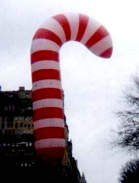 Candy Cane Parade Balloon