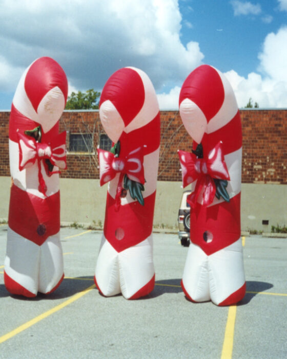 Candy Cane Inflatable Costume